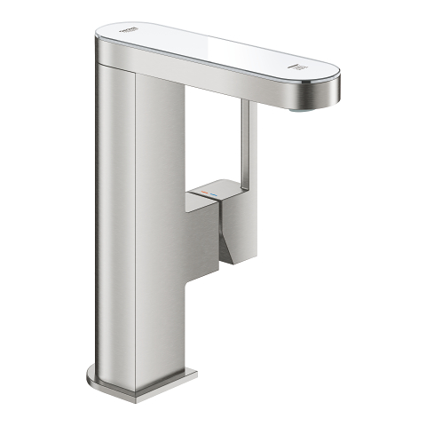 Single-lever basin mixer 1/2″ with LED display < br/>M-size