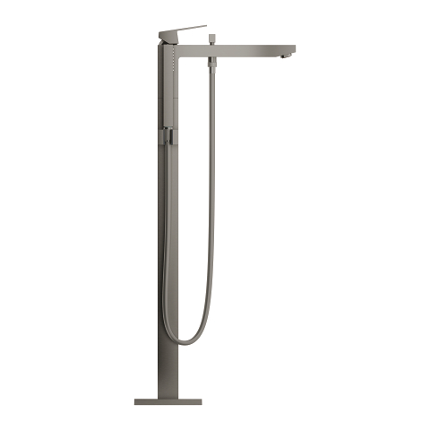 Eurocube Single-lever bath mixer 1/2″, floor mounted