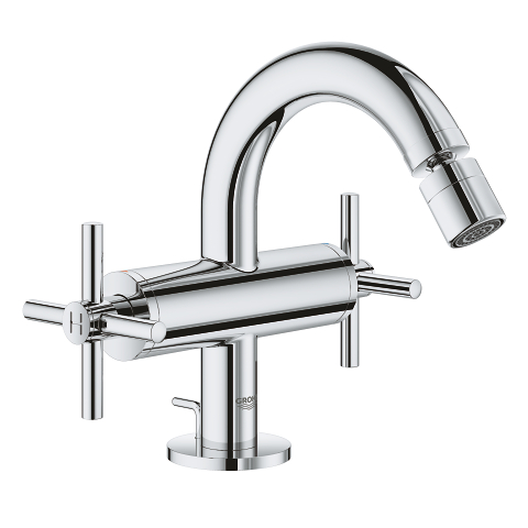 Atrio Single-hole bidet mixer M-Size