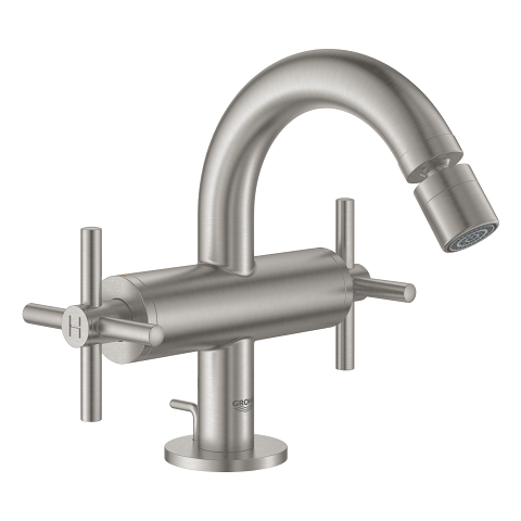 Single-hole bidet mixer M-Size