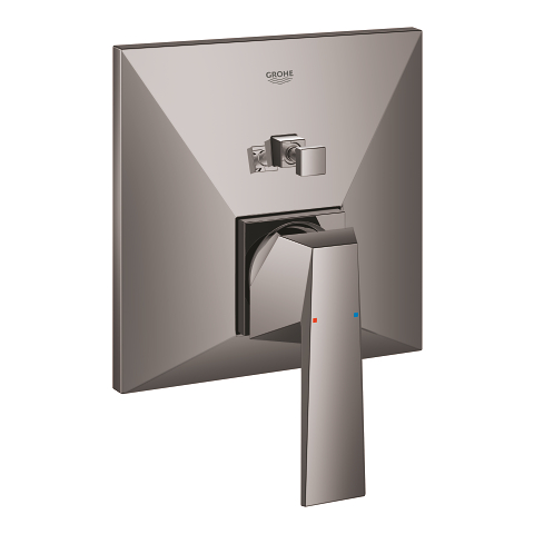 Single-lever mixer with 2-way diverter