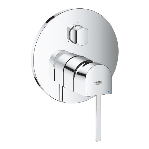 GROHE Plus Single-lever mixer with 3-way diverter