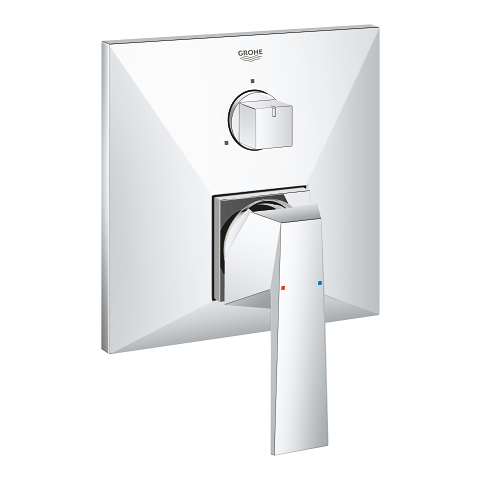 Allure Brilliant Single-lever mixer with 3-way diverter