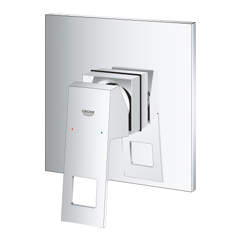 Eurocube Single-lever shower mixer trim