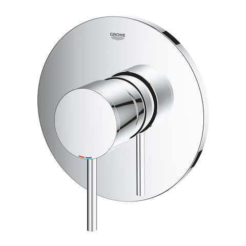 Atrio Single-lever shower mixer trim