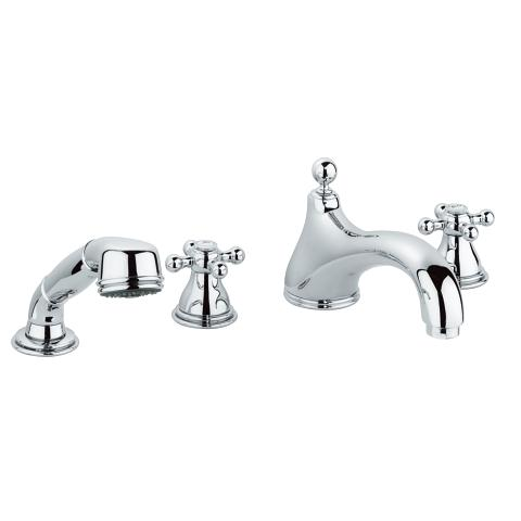 Sinfonia Four-hole bath combination 1/2″
