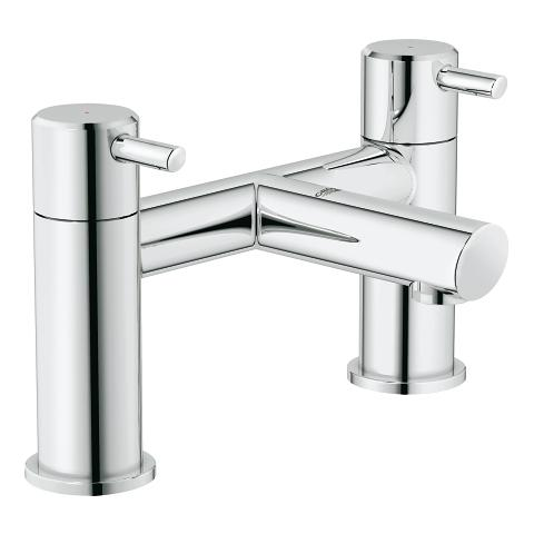Two-handle bath filler 1/2″