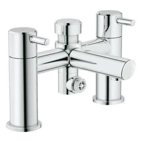 Two-handled Bath/Shower mixer ½″