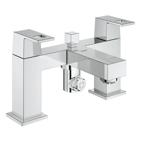 Eurocube Two-handled bath/shower mixer ½″