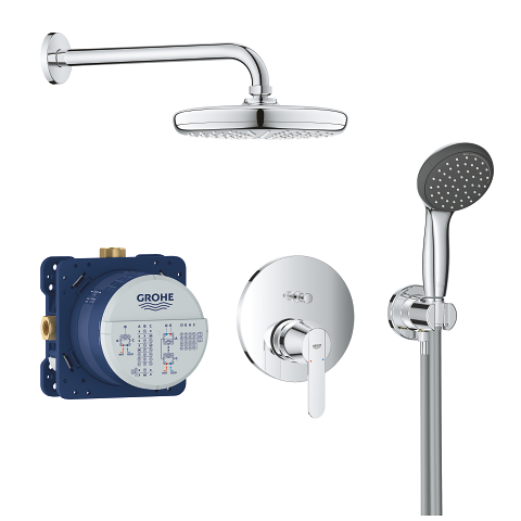 Perfect shower set with Vitalio Start 210