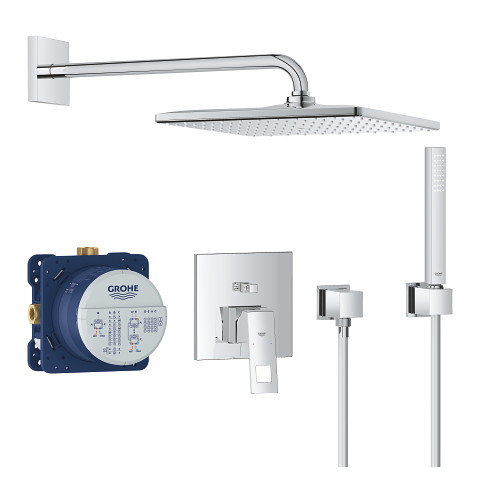 Perfect shower set with Rainshower Mono 310 Cube