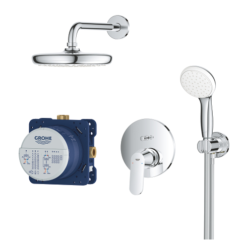 Eurosmart Cosmopolitan Perfect shower set with Tempesta 210