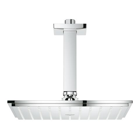 Head shower set ceiling 154 mm, 1 spray
