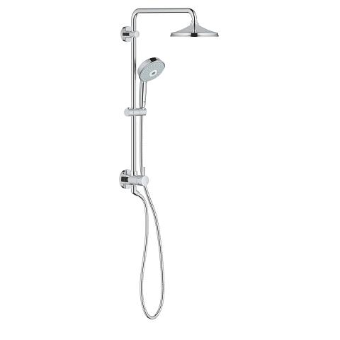 Retro-fit 210 Shower system with diverter for wall mounting