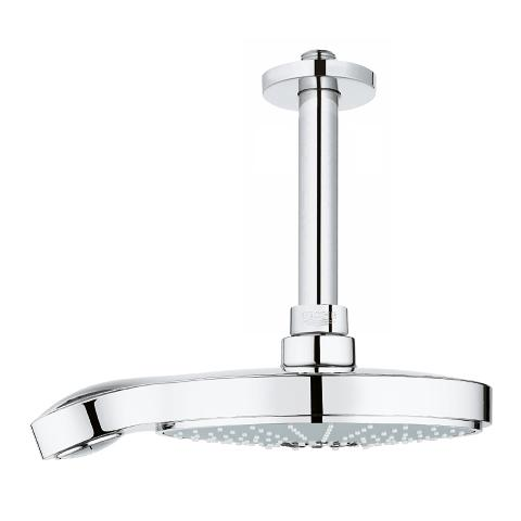 Head shower set ceiling 142 mm
