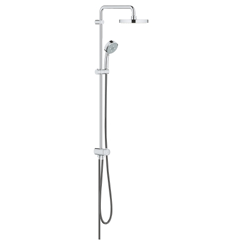 Tempesta Cosmopolitan System 200 Shower system with diverter for wall mounting