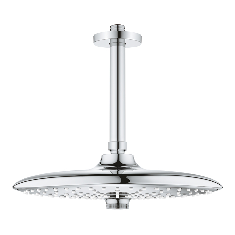 Head shower set ceiling 142 mm, 3 sprays