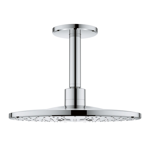 Head shower set ceiling 142 mm, 2 sprays