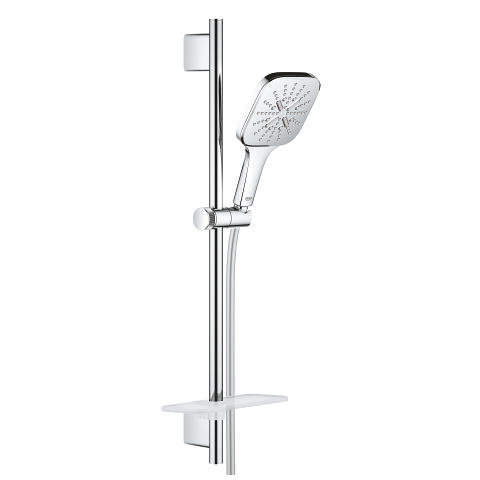 Rainshower SmartActive 130 Cube Shower rail set 3 sprays
