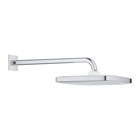 Head shower set 380 mm, 1 spray