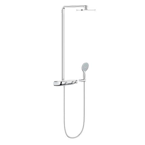 Power&Soul 130 Hand shower 4+ sprays, spray plate night time grey