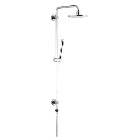 Shower system with GrohClick without fitting for wall mounting