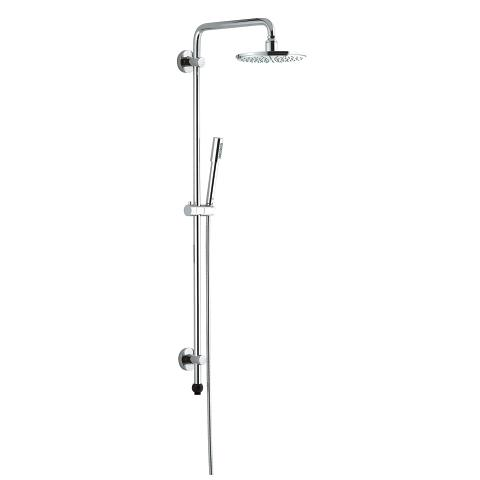 Rainshower System 210 Shower system with GrohClick without fitting for wall mounting