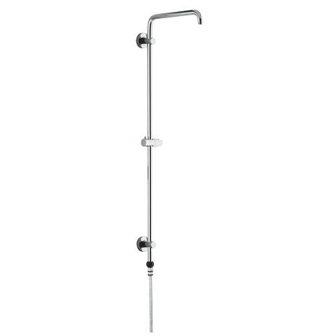 Shower system with Grohclick for wall mounting, without head and hand shower