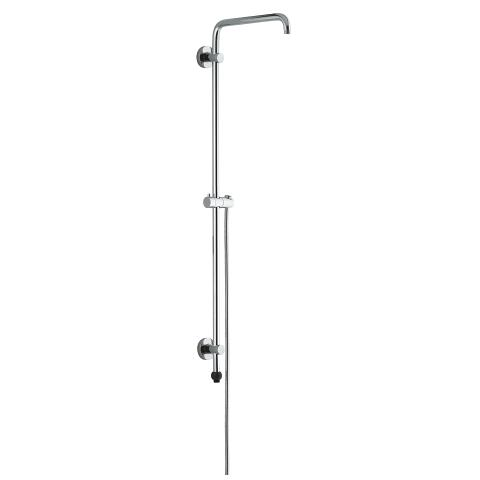 Rainshower System 190 Shower system with Grohclick for wall mounting, without head and hand shower