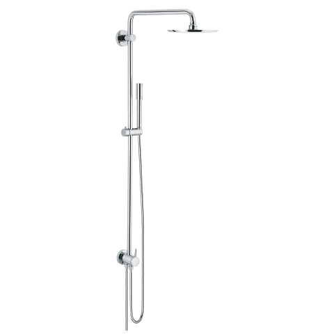 Rainshower System 210 Shower system with diverter for wall mounting