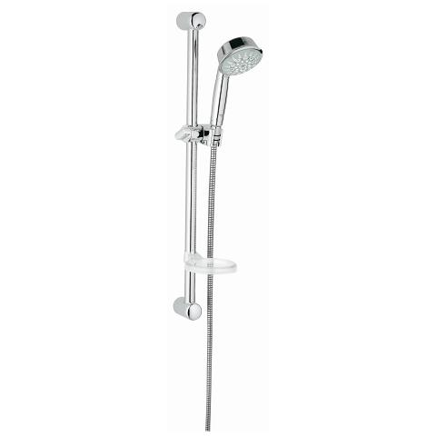Relexa Rustic 100 Shower Rail Set 5 sprays