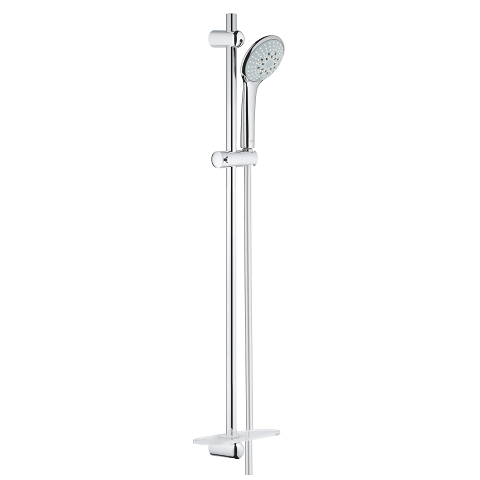 Euphoria 110 Champagne Shower Rail Set 3 sprays