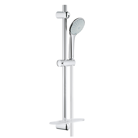 Shower rail set 2 sprays