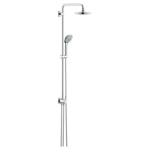 Euphoria System 180 Shower system with diverter for wall mounting