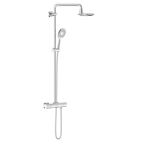 Rainshower Icon System 190 Shower system with thermostat for wall mounting