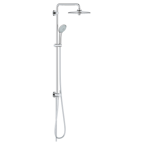 Euphoria System 260 Shower system with diverter for wall mounting