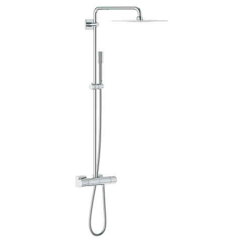 Rainshower F-Series System 254 Shower system with thermostat for wall mounting