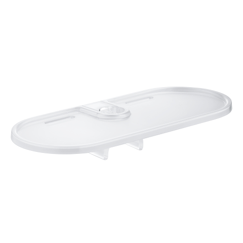 Vitalio Universal Tray for shower rail