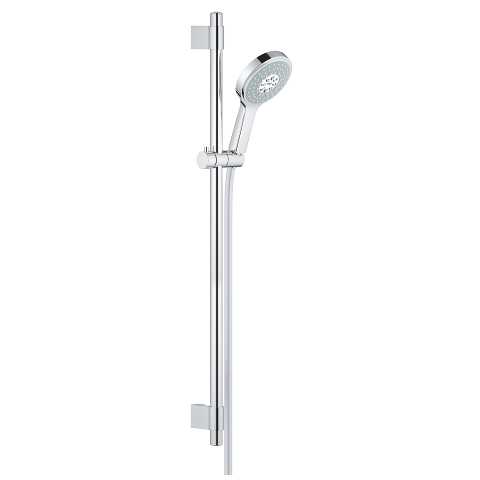 Shower rail set 4+ sprays