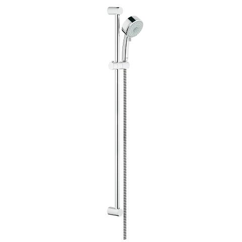 Shower rail set 4 sprays