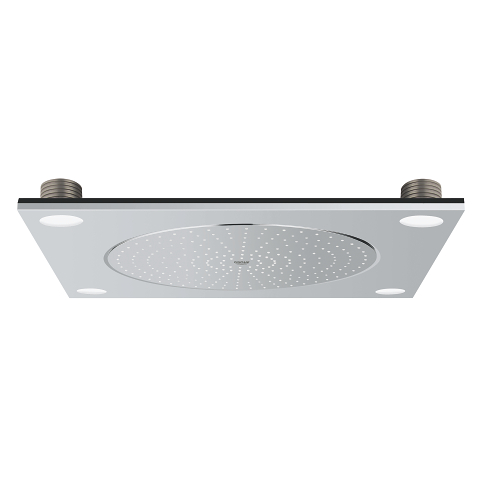 Ceiling shower with light, 1 spray