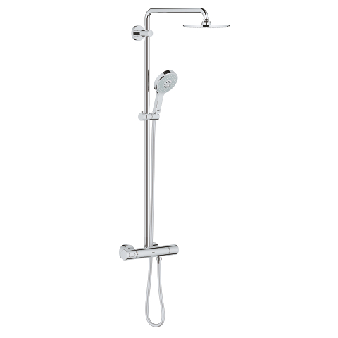 Shower system with Safety Mixer for wall mounting
