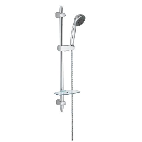 Vitalio Comfort 100 Shower rail set 4 sprays
