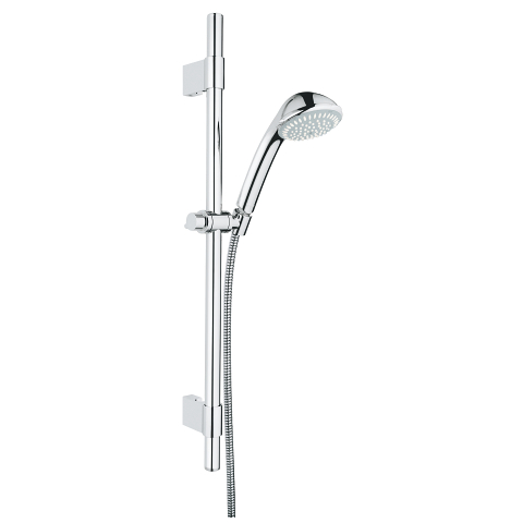 Relexa 100 Trio Shower Rail Set 3 sprays