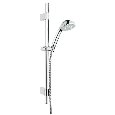 Relexa 100 Champagne Shower rail set 4 sprays