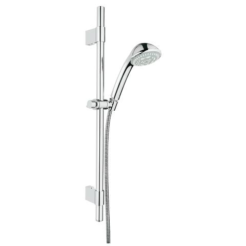 Relexa 100 Massage Shower Rail Set 3 sprays