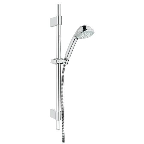 Shower rail set 5 sprays