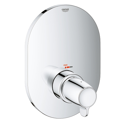 Central thermostatic mixer