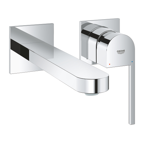 Plus 2-hole basin mixer L-Size