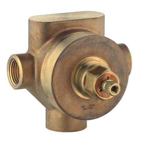 3-port rough-in valve
